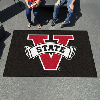 "59.5"" x 94.5"" Valdosta State University Black Rectangle Ulti Mat"