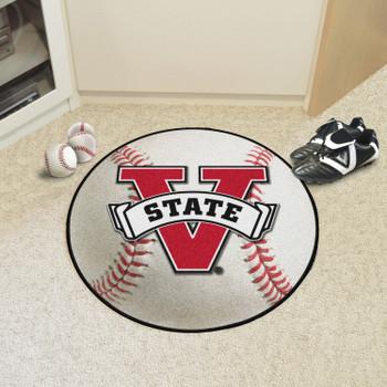 "27"" Valdosta State University Baseball Style Round Mat"