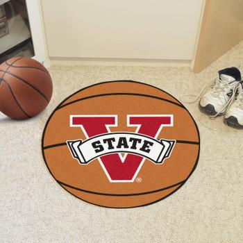 "27"" Valdosta State University Basketball Style Round Mat"