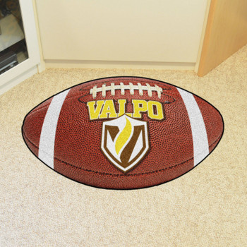 "20.5"" x 32.5"" Valparaiso University Football Shape Mat"