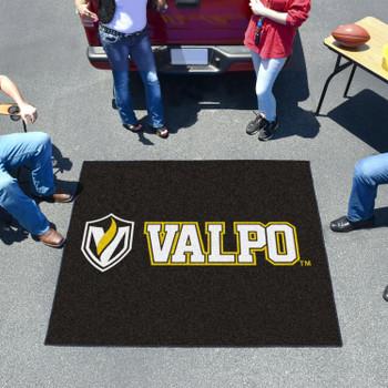 "59.5"" x 71"" Valparaiso University Black Tailgater Mat"