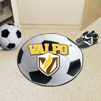 "27"" Valparaiso University Soccer Ball Round Mat"