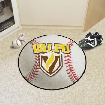 "27"" Valparaiso University Baseball Style Round Mat"