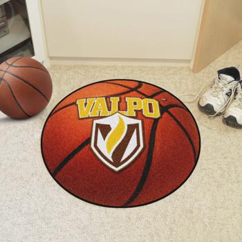 "27"" Valparaiso University Basketball Style Round Mat"