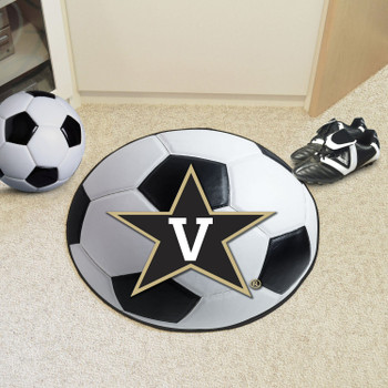 "27"" Vanderbilt University Soccer Ball Round Mat"