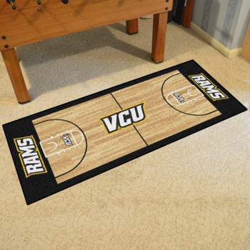 "30"" x 72"" Virginia Commonwealth University (VCU) NCAA Basketball Rectangle Runner Mat"