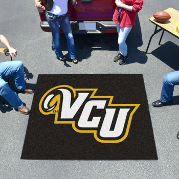 "59.5"" x 71"" Virginia Commonwealth University Black Tailgater Mat"