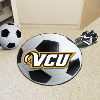 "27"" Virginia Commonwealth University Soccer Ball Round Mat"