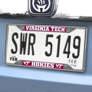 Virginia Tech License Plate Frame