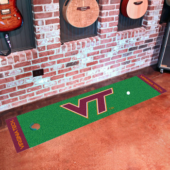 "18"" x 72"" Virginia Tech Putting Green Runner Mat"