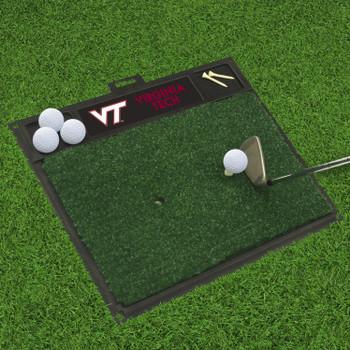 """20"""" x 17"""" Virginia Tech Golf Hitting Mat"""