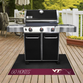 Virginia Tech Southern Style Grill Mat