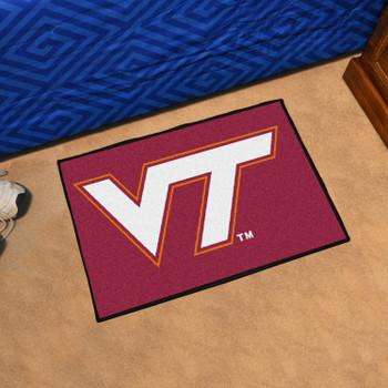 "19"" x 30"" Virginia Tech Hokies Maroon Rectangle Starter Mat"
