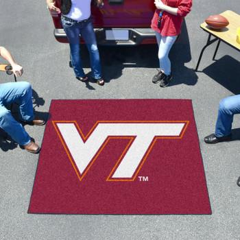 "59.5"" x 71"" Virginia Tech Maroon Tailgater Mat"