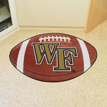 "20.5"" x 32.5"" Wake Forest University Football Shape Mat"