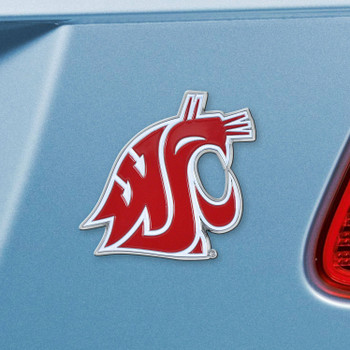 Washington State University Red Color Emblem, Set of 2