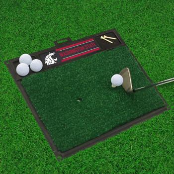 """20"""" x 17"""" Washington State University Golf Hitting Mat"""