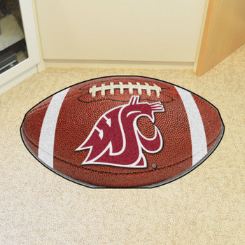"20.5"" x 32.5"" Washington State University Football Shape Mat"