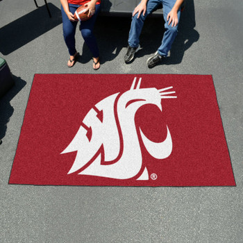 "59.5"" x 94.5"" Washington State University Red Rectangle Ulti Mat"