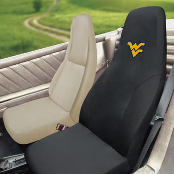 "West Virginia University Car Seat Cover - ""WV"" Logo"