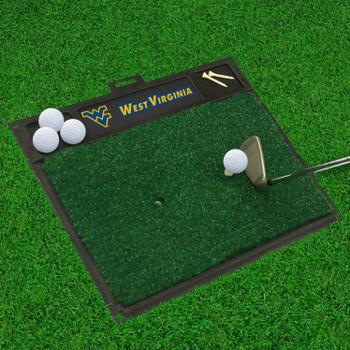 "20"" x 17"" West Virginia University Golf Hitting Mat"