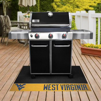 "26"" x 42"" West Virginia University Grill Mat"
