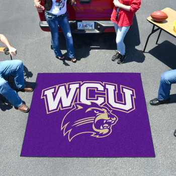 "59.5"" x 71"" Western Carolina University Purple Tailgater Mat"