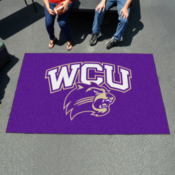 "59.5"" x 94.5"" Western Carolina University Purple Rectangle Ulti Mat"
