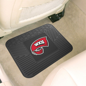 "14"" x 17"" Western Kentucky University Car Utility Mat"