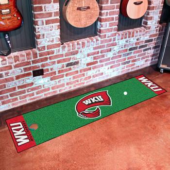 "18"" x 72"" Western Kentucky University Putting Green Runner Mat"