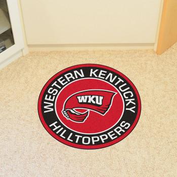 "27"" Western Kentucky University Roundel Round Mat"
