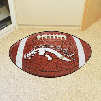 "20.5"" x 32.5"" Western Michigan University Football Shape Mat"