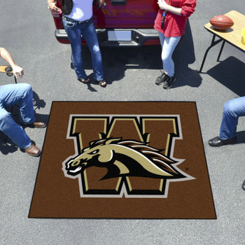 "59.5"" x 71"" Western Michigan University Brown Tailgater Mat"