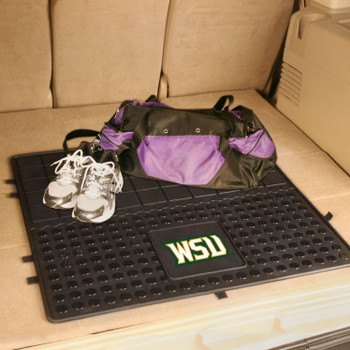 "31"" Wright State University Heavy Duty Vinyl Cargo Trunk Mat"
