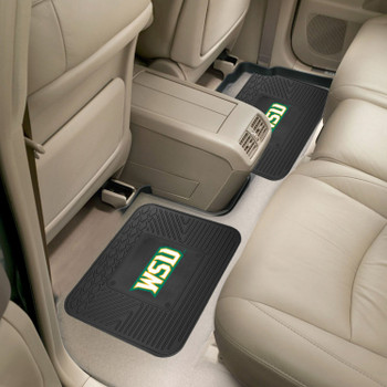 Wright State University Heavy Duty Vinyl Car Utility Mats, Set of 2