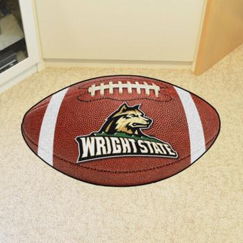 """20.5"""" x 32.5"""" Wright State University Football Shape Mat"""