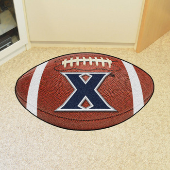 "20.5"" x 32.5"" Xavier University Football Shape Mat"