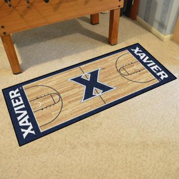 """30"""" x 72"""" Xavier University NCAA Basketball Rectangle Runner Mat"""