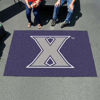 "59.5"" x 94.5"" Xavier University Navy Blue Rectangle Ulti Mat"