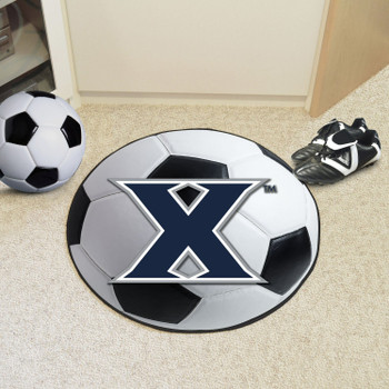 "27"" Xavier University Soccer Ball Round Mat"