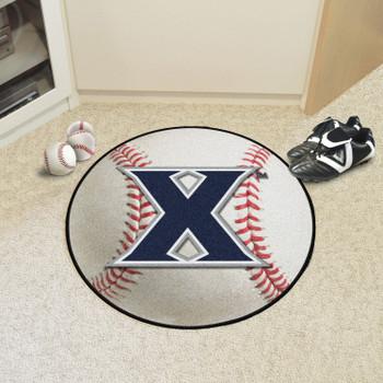 "27"" Xavier University Baseball Style Round Mat"