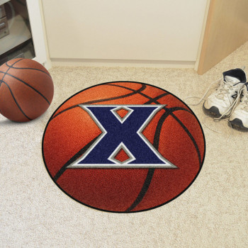 "27"" Xavier University Basketball Style Round Mat"