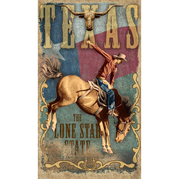 Custom Texas Lone Star State Vintage Style Wooden Sign