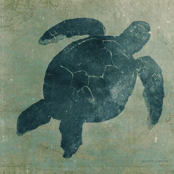 Sea Turtle Vintage Style Metal Sign