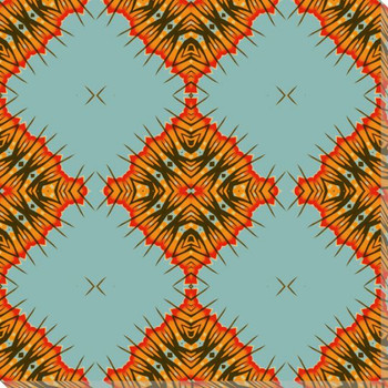 Desert Diamonds Wrapped Canvas Giclee Art Print Wall Art