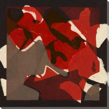 Formes de Papier 3 Wrapped Canvas Giclee Art Print Wall Art