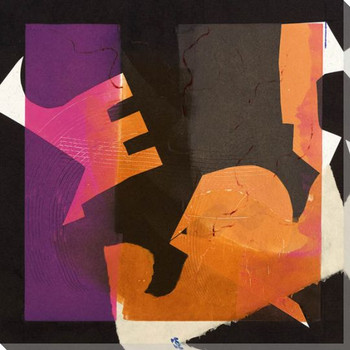 Formes de Papier 2 Wrapped Canvas Giclee Art Print Wall Art