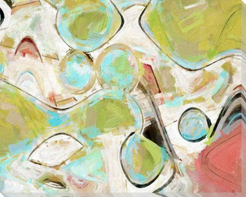Thinking Abstractly I Wrapped Canvas Giclee Art Print Wall Art