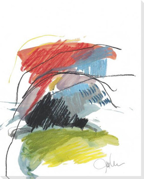 Abstract Landscape No 40 Wrapped Canvas Giclee Art Print Wall Art