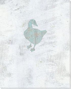 Duck Wrapped Canvas Giclee Art Print Wall Art